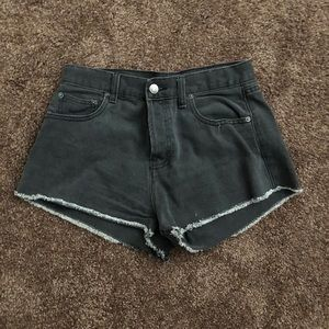 Forever 21 high waisted black shorts
